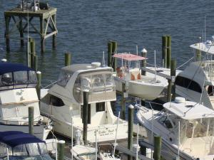 55' Deep-water boat slip at Olde Towne Yacht Club