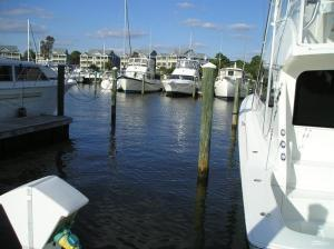 50' wet slip in the Marina at St. James Plantation