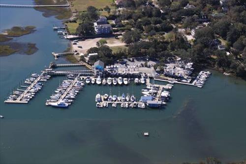 BOAT SLIP - 22' DRY SLIP MEMBERSHIP AT MASONBORO YACHT CLUB and MARINA