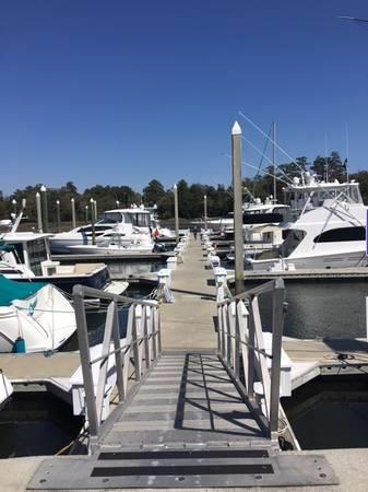 Bradley Creek Marina - 55' Boat Slip For Sale