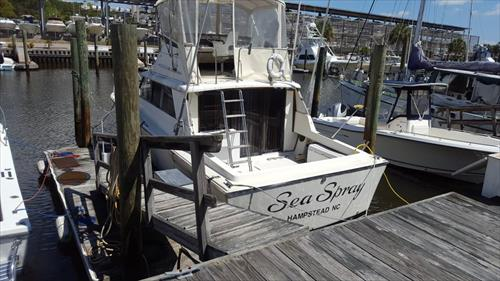 Inlet Watch 45' Wet Slip - Boat Slip - $76500 - Wilmington, North Carolina