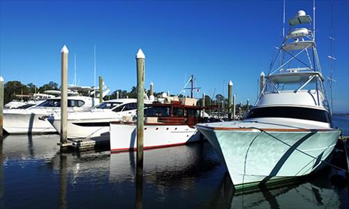 55' Boat Slip for Rent- Bradley Creek Marina- Wilmington, North Carolina