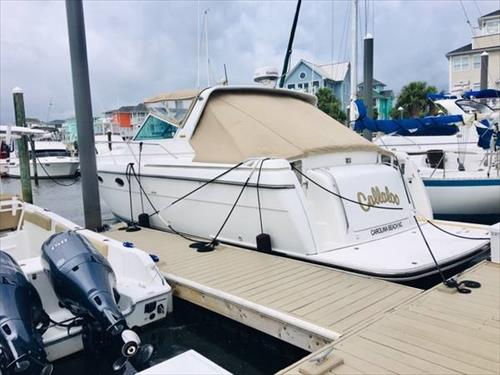 35' Wet Boat Slip for Sale -  Federal Point Yacht Club - Carolina Beach/Wilmington NC