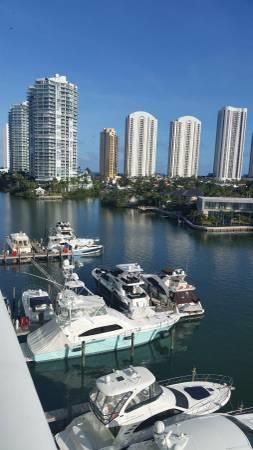 100' Wet Slip for Sale - Sunny Isles Beach - Ft Lauderdale, Florida