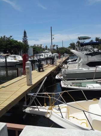 40' Boat Slip for Sale - River Run Yacht Club - Miami, Florida