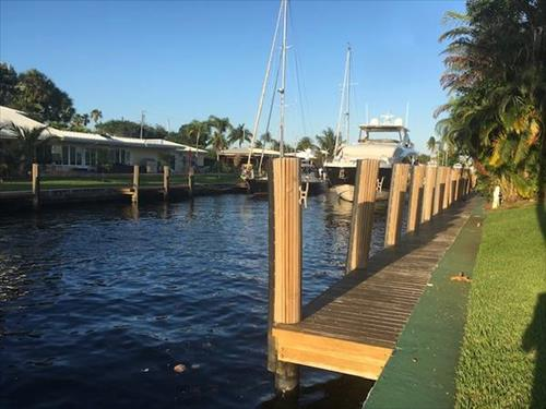 70' boat slip for Rent - Citrus Isles - Ft Lauderdale, Florida