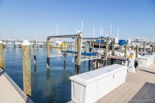 40' Boat Lift/Slip for rental - Brickell Place Marina- Miami, Florida