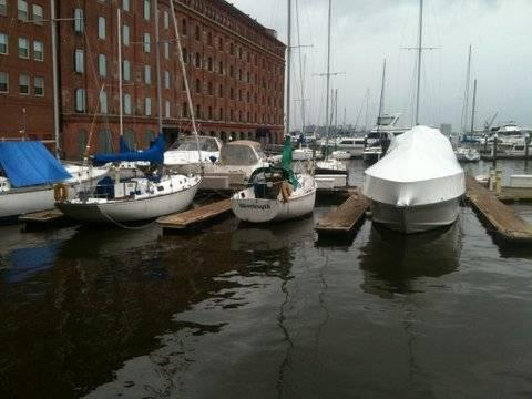 42' boat slip for rent - Baltimore Harbor - Baltimore, MD