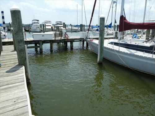36' boat slip for sale - Bowley's Marina - Middle River/Baltimore MD
