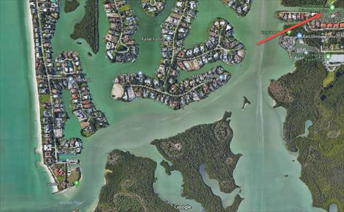 50' boat slip for lease - Naples Bay - Naples, FL