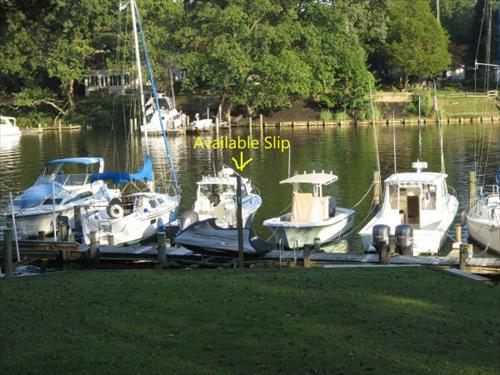 34' boat slip for rent - Severna on Cypress Creek - Annapolis, MD