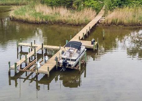 35' boat slip for rent - Nabb's Creek - Pasadena, MD