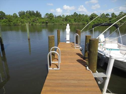 60' boat slip for sale - River Forest Marina - Stuart, FL