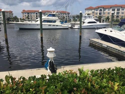 40' boat slip for rent - Harbor Town Marina - Jacksonville Beach, FL