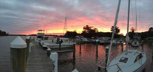 30'-45' boat slip for lease - Greys Inn Creek Marina - Rock Hall, MD