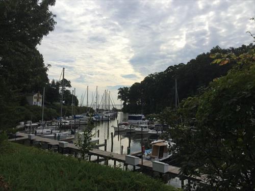 35' boat slip for rent - Flag Harbor Yacht Haven - St Leonard, MD