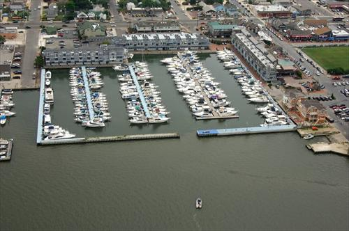 45' boat slip for rent - Shelter Harbor Marina - Long Beach Island