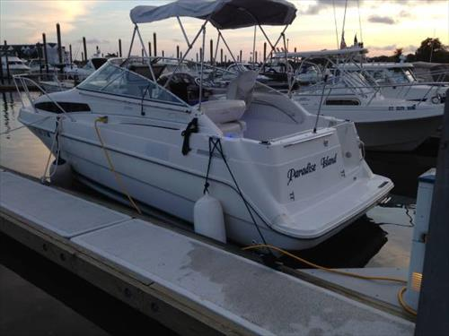 30' boat slip for rent or sale - Caswell Cove Marina