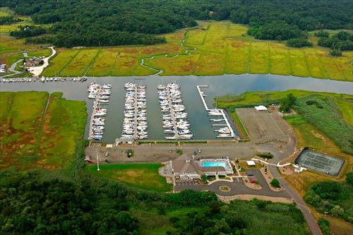 46' boat slip for rent or purchase - Guilford Yacht Club - Guilford, CT