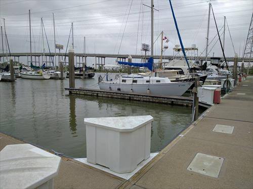 40' boat slip for sale - Portofino Harbour Marina, Clear Lake Shores, TX